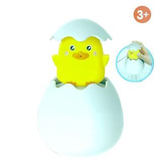 AD Baby Bathing Toy Duck Penguin Egg Shape Water Spray Sprinkler Tool for Kids