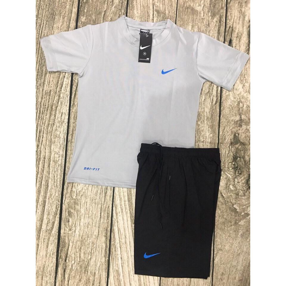 Bộ Quần Áo Thể Thao Nike Nam VCN 23 (Xám)