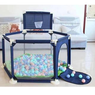 Lều chơi trong nhà loại to cho bé phát triển khả năng vận động – Cũi quây hình lục giác cho bé trai và bé gái tại nhà