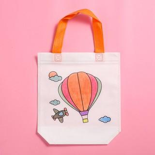 Túi xách tô màu vẽ bằng vải dệt cho bé đồ chơi Simbaba cho trẻ em 3-5 tuổi tập tô màu sáng tạo 8