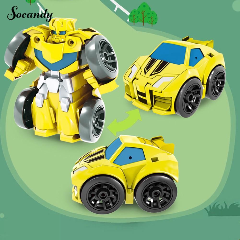 Tobot Đồ Chơi Robot Biến Hình Xe Hơi Độc Đáo Cho Bé Trai