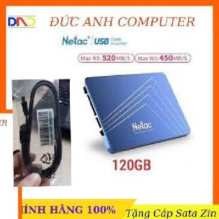 Ổ Cứng SSD Netac 120GB 128GB 256GB – Hàng Chính Hãng, Full Box, Bảo Hành 36 Tháng