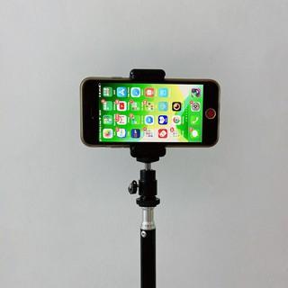 Bộ bi cầu, kẹp điện thoại xoay 360 độ gắn tripod, cây livestream, gậy tự sướng