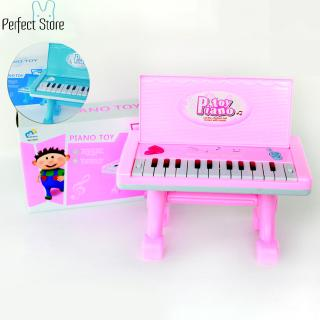 Children Electronic Keyboard with Microphone 22 Keys Multi-function Electronic Organ Music Toy Size