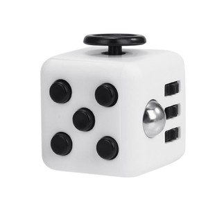 Stress Reliever Magic Cube for Worker – Black+Wh