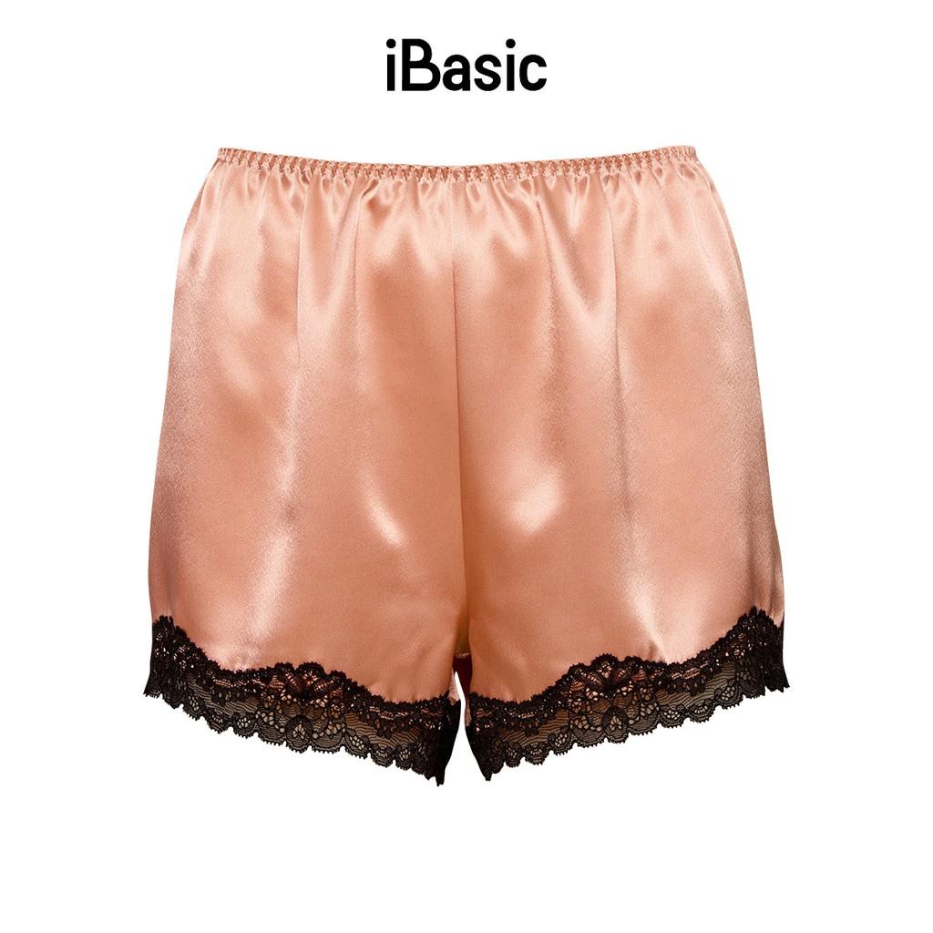 Mặc gì đẹp: Êm êm với [Mã WABR151 giảm 10% đơn 99000] Bộ đồ mặc nhà satin iBasic HOMY015