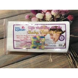 Rẻ Sập Sàn Khăn Vải Khô Đa Năng Hiền Trang Tuyết Lan 180gram thumbnail