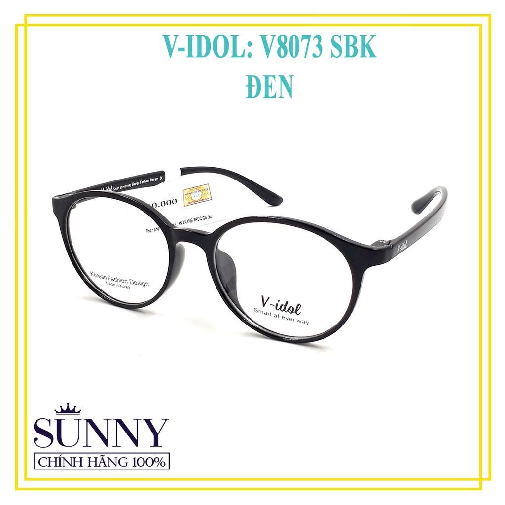 (Hàng Loại 1) Gọng Kính Chính Hãng Vidol V8073 – 5 Màu Khác Nhau – TẶNG trong miễn phí