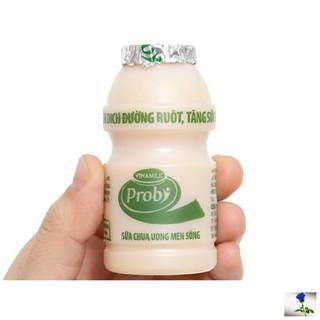 [Date mới nhất] Lốc 5 lọ sữa chua uống men sống Probi Vinamilk 65ml