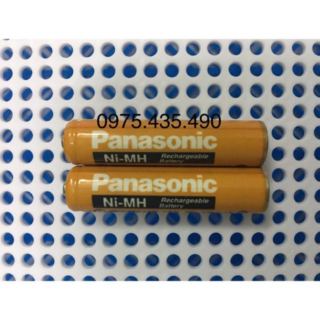 Combo 2 Viên Pin Sạc AAA Panasonic Dùng Cho Điện Thoại Kéo Dài