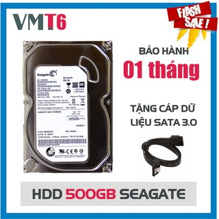 Ổ cứng HDD Seagate 500GB - Bảo hành 01 tháng!