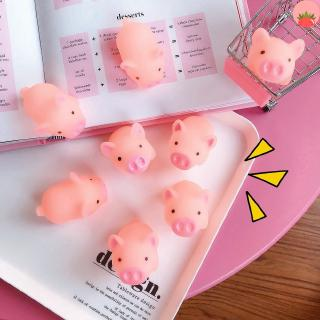Cartoon Soft Sprout Cute Pink Pig Vent Pig Decompression Vent Toys