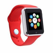 Đồng hồ thông minh Smart Watch A1 gắn sim độc lập (màu đỏ đô )