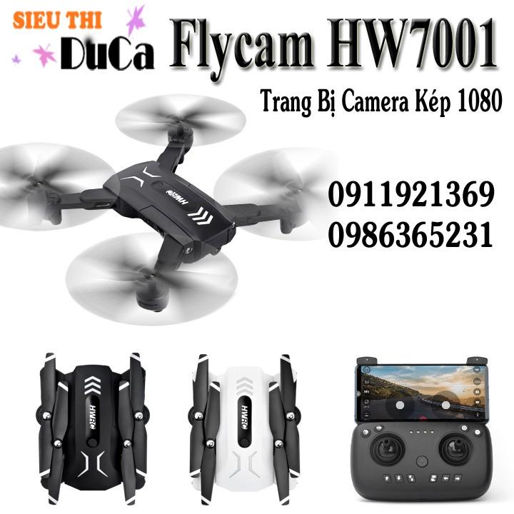 Flycam HW9001 Trang Bị 2 Camera 1080 HD4K Bay 18-20p
