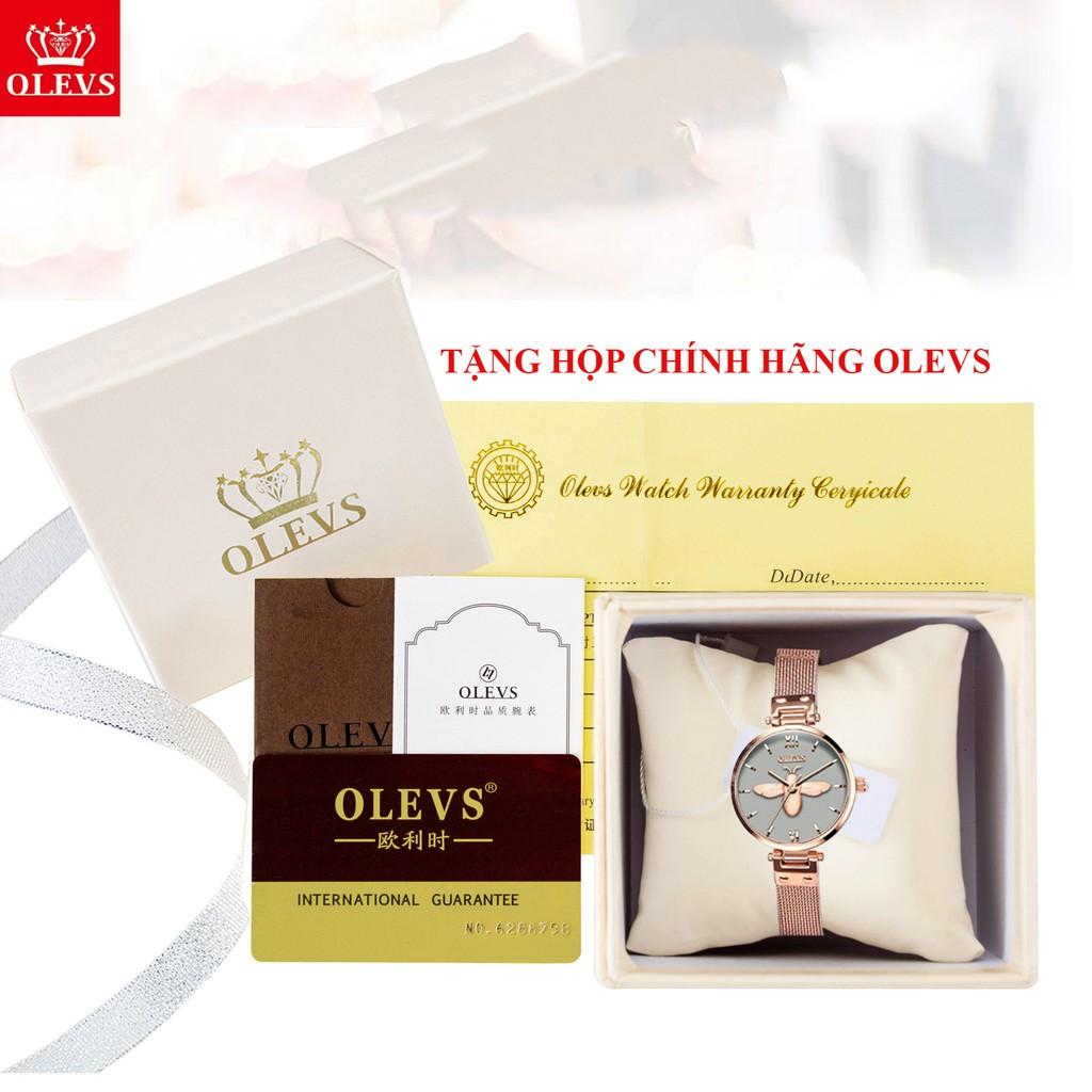Hộp đồng hồ chính hãng Olevs, hộp đựng sang trọng, thích hợp làm quà tặng