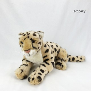 【ezbuy】 Simulation Cheetah Panther Jungle Animal Stuffed Plush Kids Toy Home Sofa Decor