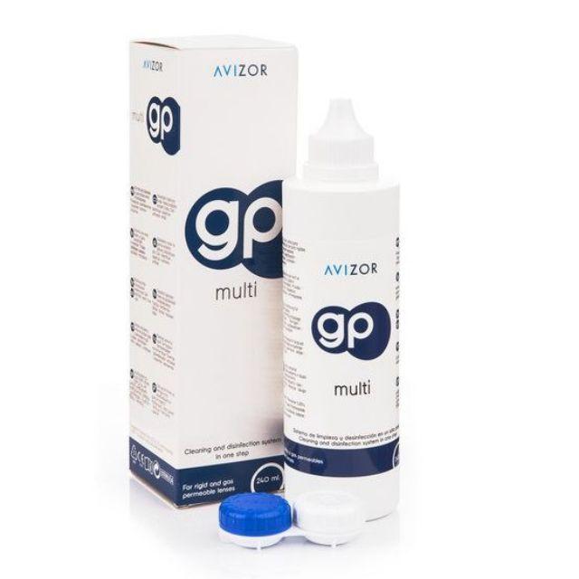 Dung dịch ngâm rửa kính áp tròng cứng Avizor GP Multi 240ml | Shopee Việt  Nam