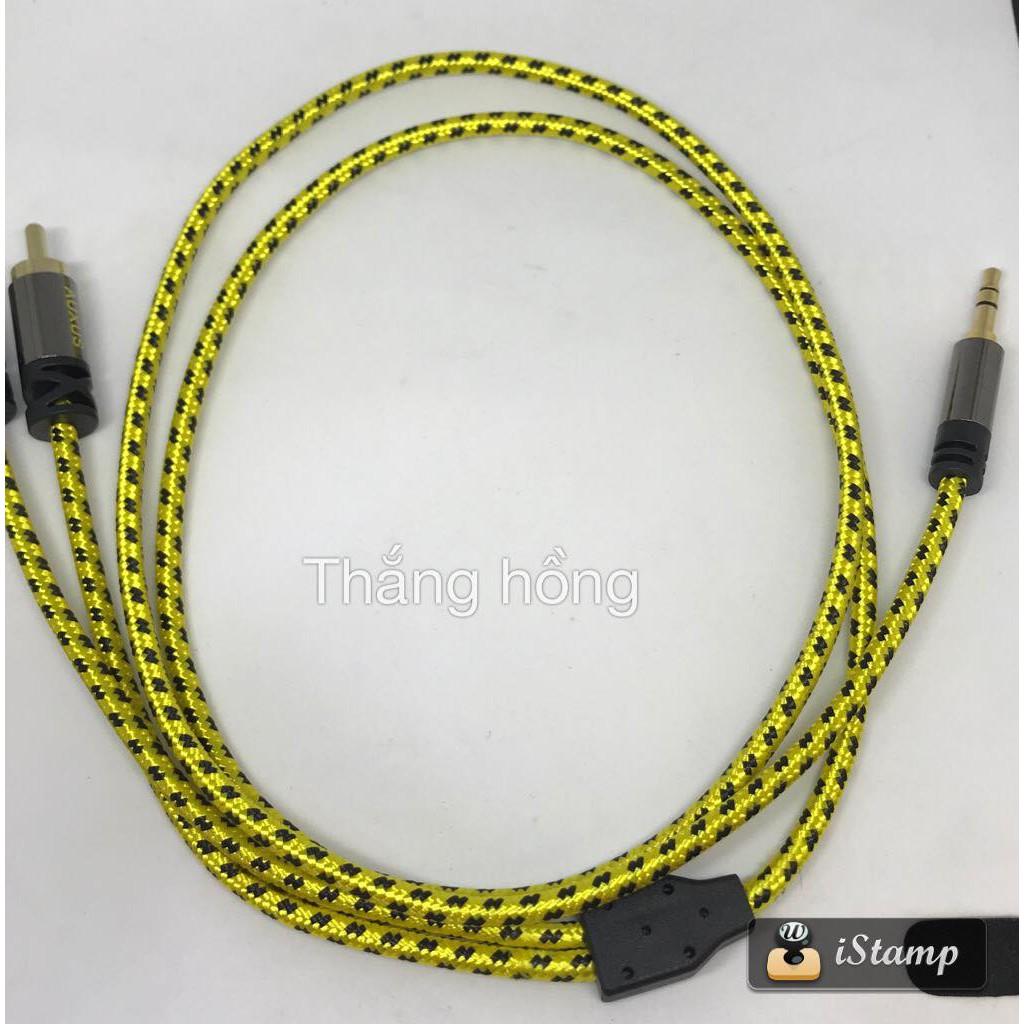 dây 3,5 ra 2hoa sen- av hàng AUX có các loại