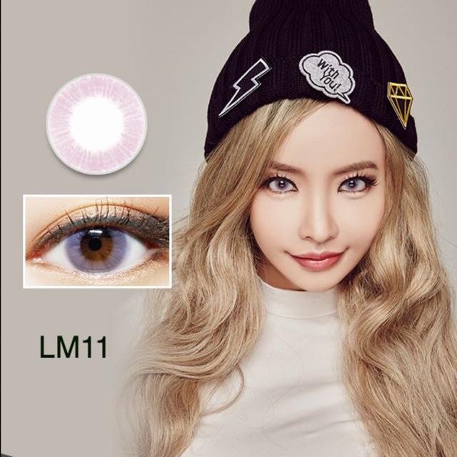 |CÓ SẴN| Lens (Kính áp tròng) Hàn Quốc LM11 Pink (Lens Me)