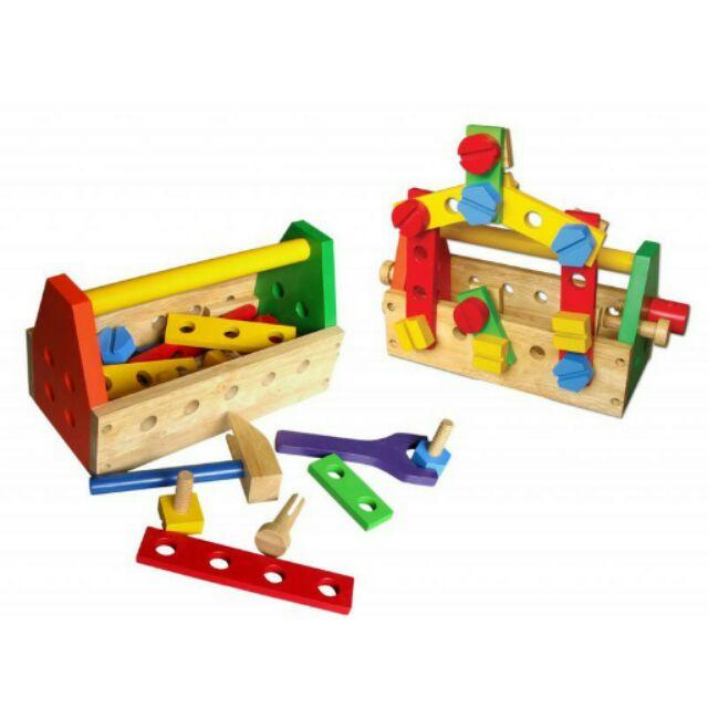 Bộ đồ chơi kỹ sư bằng gỗ cao cấp