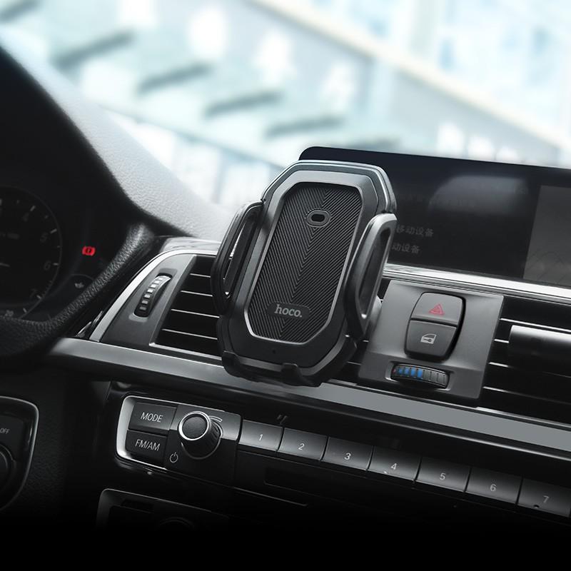 Giá đỡ điện thoại HOCO CA32 trên xe hơi ô tô cảm ứng Dành cho điện thoại iPhone iP Huawei Samsung Oppo Realme