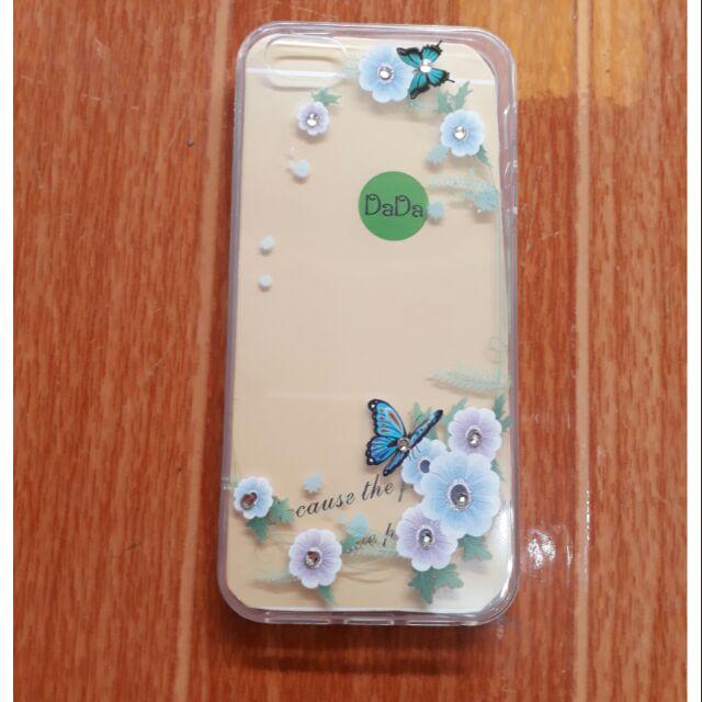 Ốp lưng Iphone 5/5s dẻo hoa đính đá