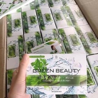 1 Hộp 32 gói Nước Ép Cần Tây Green Beauty – Hàng chính hãng công ty