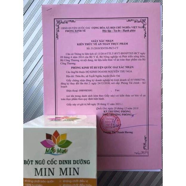 NGŨ CỐC LỢI SỮA MINMIN 1KG [Miễn phí ship] [Giúp sữa về nhiều và nhanh] [ Tăng hoặc giảm cân]