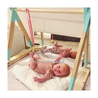 Quả chuông nhạc Montessori - Bản CHUẨN Đồ chơi cho bé 3-6 tháng tuổi thumbnail