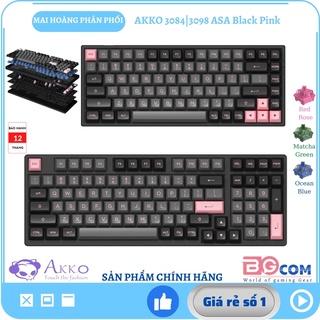[Chính hãng] Bàn phím cơ AKKO 3084 3098 Black Pink (Hotswap Akko CS Switch cao cấp Foam tiêu âm) - Mai Hoàng phân phối thumbnail