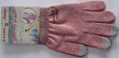 Găng tay chống nắng cảm ứng rẻ , găng tay Hàn Quốc chống tia cực tím ( mẫu mới hàng cty hình 2 )