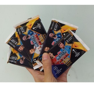 (Pack 15 thẻ) Match Attax 101 UEFA Champions Leagues 2019/20