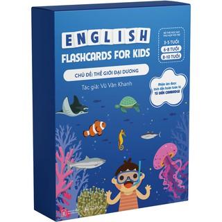 Bộ Thẻ Học Tiềng Anh chủ đề Thế Giới Đại Dương- Flashcard thumbnail