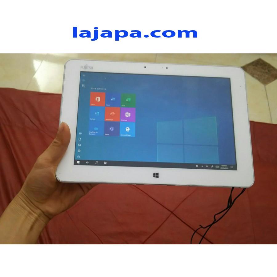 [Bộ Quà Tặng Trị Giá 680K] Máy tinh 2 trong 1 Fujitsu Q584 H Màn hình 2K cảm ứng 10,1 inch  laptop nhat ban LAJAPA