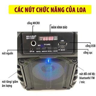 Loa Kẹo Kéo Karaoke Bluetooth Mini JAVA33bt – Loabluetooth – – Fujiku