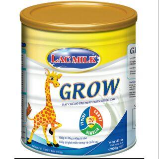 Sữa bột Lacmilk Grow 900 gam thumbnail