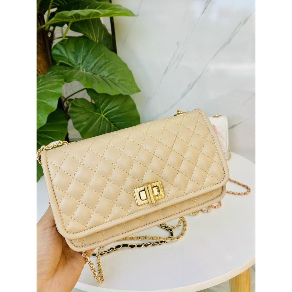 Túi xách nữ giá rẻ túi xách nữ ô trám da mềm hàng đẹp CKXOAY01