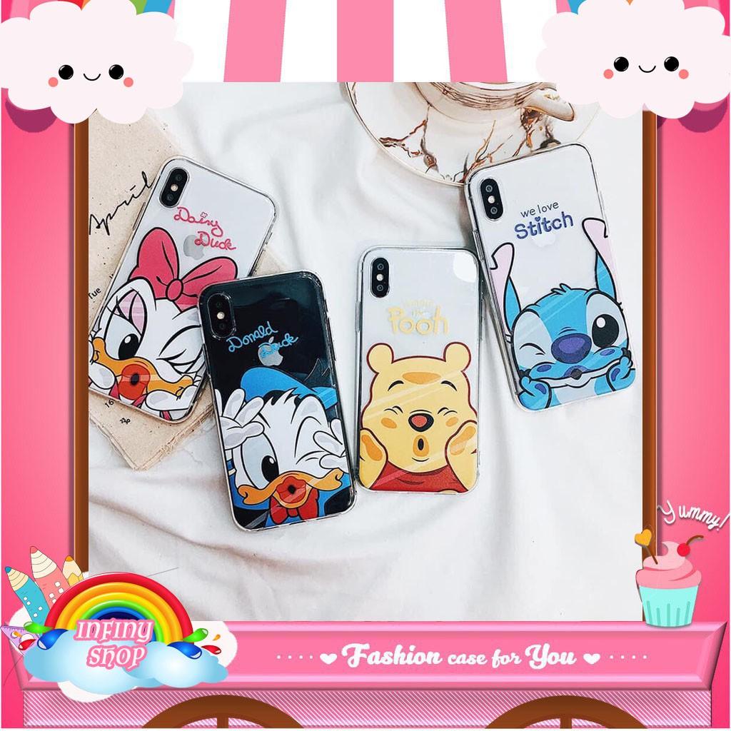 ỐP IPHONE - ỐP LƯNG - M14 Still - Pooh - Daisy - Donal