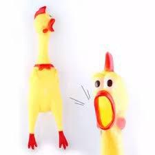KHUYẾN MÃI Gà Bóp Kêu Gà la hét Shrilling Chicken Sz Lớn và Nhỡ- ảnh gốc nha SP GH2587 Asuper