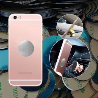 Set 5 miếng dán kim loại từ tính dùng để dán điện thoại thuận tiện cho sử dụng trên xe ô tô
