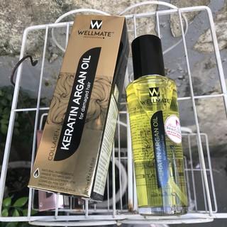 Tinh dầu Phục hồi tóc Wellmate Keratin Argan Oil 120ml (vàng) thumbnail