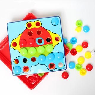 set 12 mô hình nấm đồ chơi cho bé