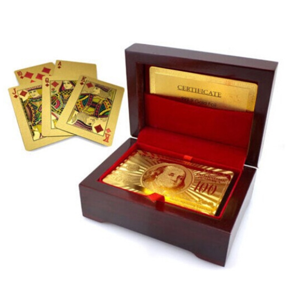 Holder Packing Poker Wooden Container Storage Case Organizer High End Durable Gift Party Playing Cards Box Decorative