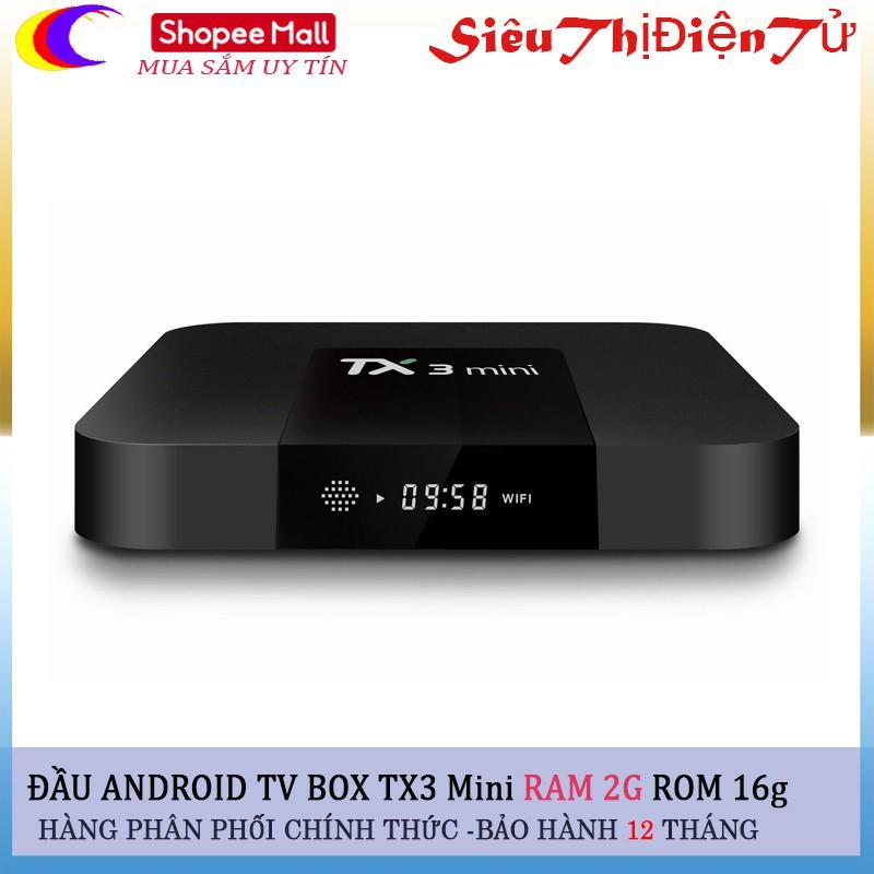 Android tv box TX3 Mini loại RAM 2G Rom 16G