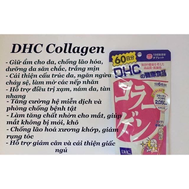 Viên uống collagen DHC 360 viên Nhật Bản - 2609657 , 1241237473 , 322_1241237473 , 280000 , Vien-uong-collagen-DHC-360-vien-Nhat-Ban-322_1241237473 , shopee.vn , Viên uống collagen DHC 360 viên Nhật Bản