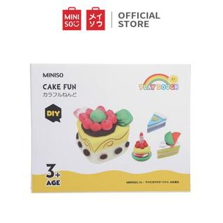 Bộ đồ chơi làm bánh cho bé Miniso - Hàng chính hãng