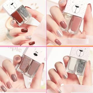 (30 màu)sơn móng tay 2 Trong 1 Nhanh khô bền vững Không độc hại sơn móng tay thumbnail