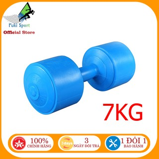 [Follow shop giảm 40% đơn hàng] Tạ tay 7kg nhựa tập gym cao cấp