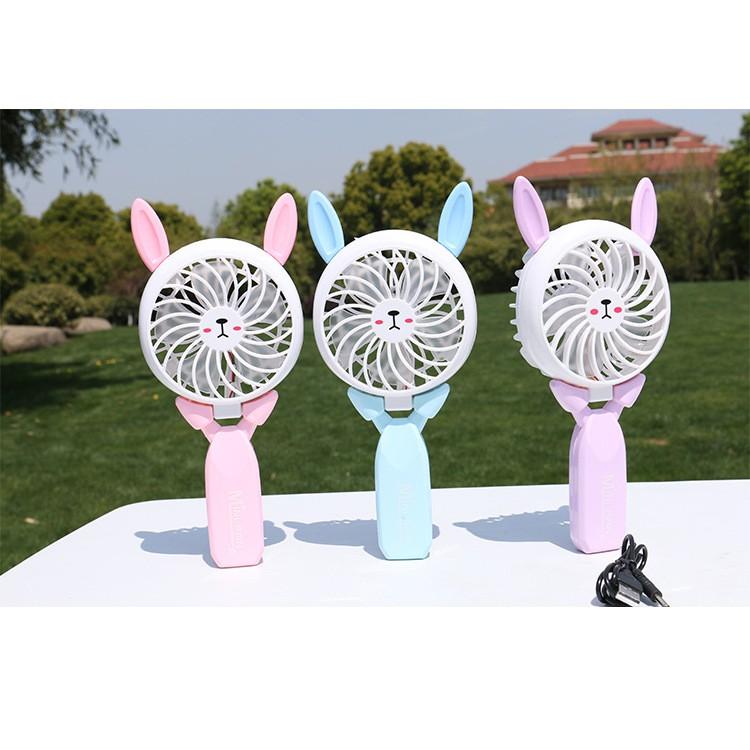quạt mini quạt cầm tay mini fan gấp gọn sạc usb