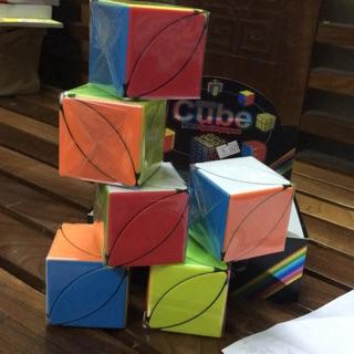 Rubik cao cấp hình chiếc lá ( Trơn nhẹ 2291 6 )